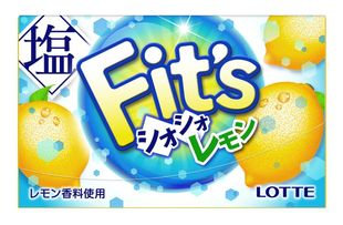 LOTTE Fit's Salty Lemon 12 sheets x 10 pieces