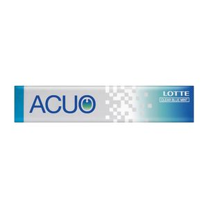 LOTTE ACUO Clear Blue Mint 14 tablets x 20 pieces
