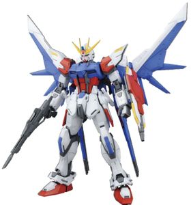 BANDAI MG 1/100 Build Strike Gundam Full Package Model Kit