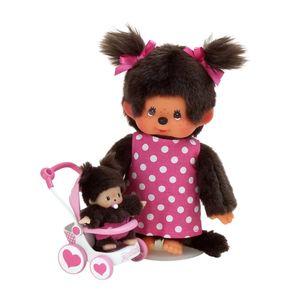 SEKIGUCHI Monchhichi Doll Baby Car Set
