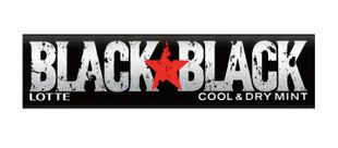 LOTTE BLACK BLACK Cool & Dry Mint 12 tablets x 15 pieces