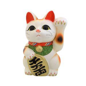 Lucky Cat (Tokoname yaki) Left White TB7504