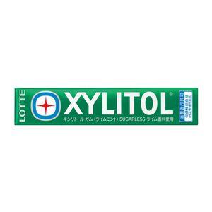 LOTTE XYLITOL Gum Lime Mint 14 tablets x 20 pieces