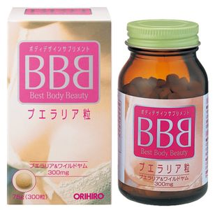 ORIHIRO BBB Best Body Beauty Pueraria 300 tablets