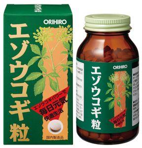 ORIHIRO Siberian Ginseng 100g 400 tablets