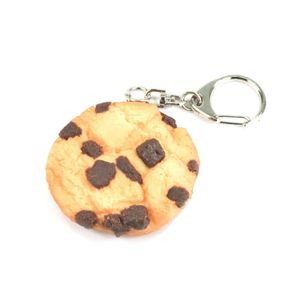 Food Sample Key Holder Chocolate Chip Cookie 061OK