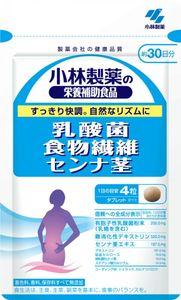 KOBAYASHI Lactic Acid Bacteria Dietary Fiber Senna Stems 120 tablets