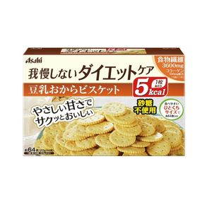 ASAHI Slim Up Slim Reset Body Biscuits 22g 4 packs 2 flavors