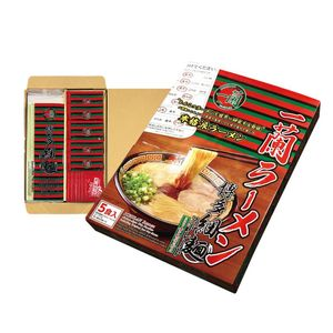 Japan Ichiran Ramen Straight Thin Noodle Box for 5 meals