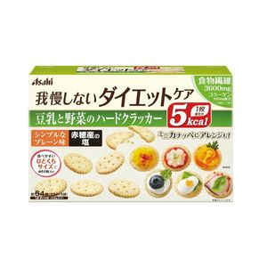 ASAHI Slim Up Slim Reset Body Soymilk and vegetables hard crackers 22 g 4 bags