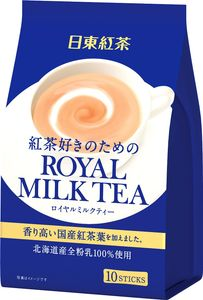NITTOH TEA Royal Milk Tea (10 sachets x 6 packs)