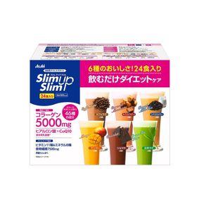 ASAHI Slim Up Slim Shake 6 flavors 24 cups