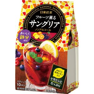 NITTOH TEA  Instant Sangria 10 sticks*3 bags