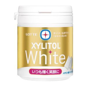 LOTTE XYLITOL White Family Bottle 143g