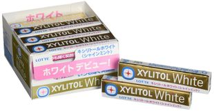 LOTTE XYLITOL White Shine Mint 14 tablets x 20 pieces