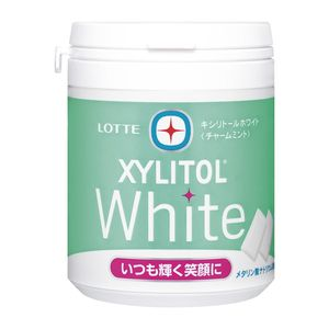 LOTTE XYLITOL White Charm Mint Family Bottle 143g