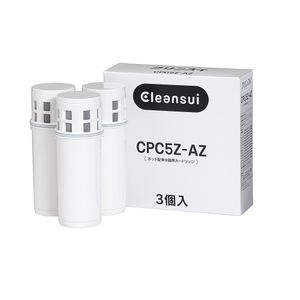 MITSUBISHI RAYON Cleansui Water Filter Pitcher Replacement Cartridge CPC5Z-AZ (3 pieces included)
