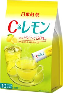NITTOH TEA  Instant C and Lemon drink 10 sticks*6 bags!