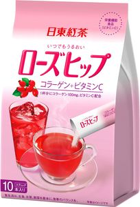 NITTOH TEA  Instant Rose Hip drink 10 sticks*6 bags