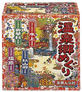 EARTH-CHEM ONSENKYOU MEGURI Hot Spring Tour 30g 18 packs