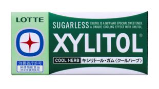 LOTTE XYLITOL Gum Cool Herb 8 sheets x 10 pieces