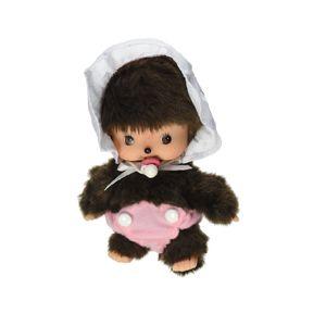 SEKIGUCHI Monchhichi Doll Baby Girl S 15cm