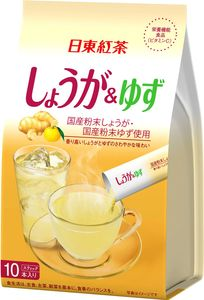 NITTOH TEA  Instant Ginger and Yuzu drink 10 sticks*6 bags