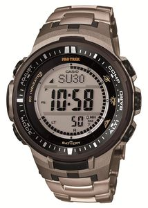 CASIO Pro Trek Triple Sensor Tough Solar PRW-3000T-7JF