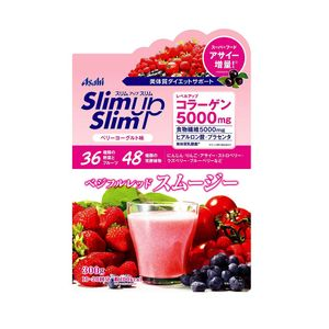 ASAHI Slim Up Slim Vege-ful Red Smoothie Berry Yogurt 300g