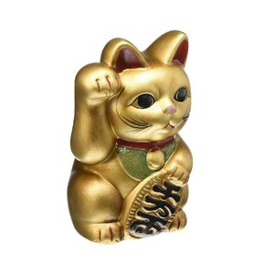 Retro Lucky Cat Gold 626 K5245