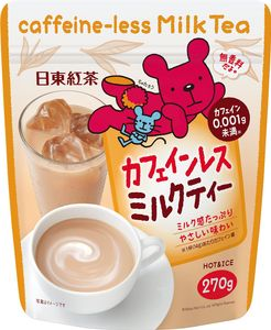 NITTOH TEA  Caffeine-less Milk Tea Decaffeinated Milk Tea 270g*3 bags
