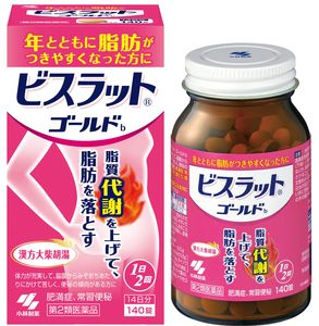 KOBAYASHI Bisuratto Gold b 140 tablets
