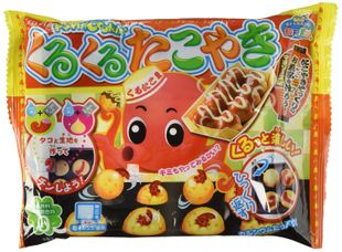 KRACIE Popin' Cookin' Takoyaki DIY Candy Kit  [10 kits]