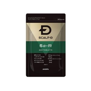 ANGFA Scalp D Supplement Gold 5α-R Saw Palmetto 240 tablets for 30 days