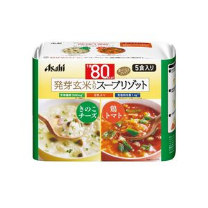 ASAHI Slim Up Slim Reset Body Soymilk Mushroom Cheese & Chicken Tomato Soup Risotto 5 meals