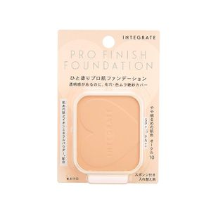 SHISEIDO INTEGRATE Pro Finish Foundation SPF16 PA++ Refill 4 colors
