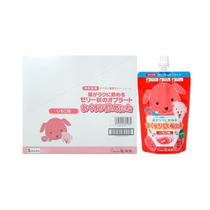 Ryukakusan Swallowing Aid Jelly (Magic Jelly) for Children 200g x 5 packs 2 flavors