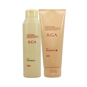 NUMBER THREE Ilga Shampoo 200ml and Treatment M 200g set