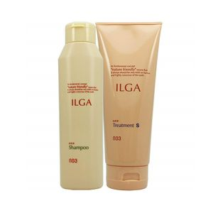 NUMBER THREE Ilga Shampoo 200ml and Treatment S 200g set