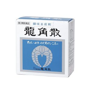 RYUKAKUSAN Superfine Powdered Herbal Throat Medicine 43g