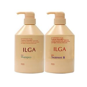 NUMBER THREE Ilga Shampoo 500ml and Treatment S 500g set