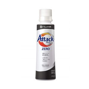 KAO Attack ZERO Liquid Laundry Detergent for Drum Washing Machine 580g