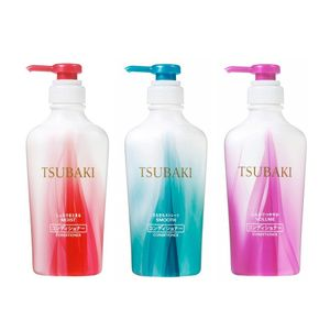 SHISEIDO TSUBAKI Conditioner 450ml 3 types