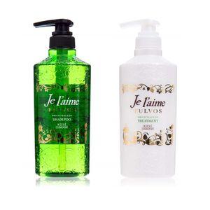 KOSE Je laime FULVOS Brightening Bright Sleek Shampoo / Treatment 500ml