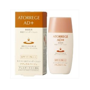 ATORREGE AD+ Moist UV Foundation SPF 17 PA++ 30ml 2 shades