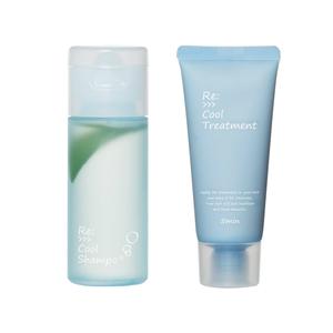 ADJUVANT Re: cool Shampoo and treatment mini set