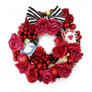 Afternoon Tea Christmas Wreath -Alice in Wonderland-