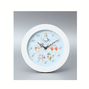 Afternoon tea disney collection alice clock