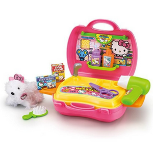 AGATSUMA hellokitty pet salon set