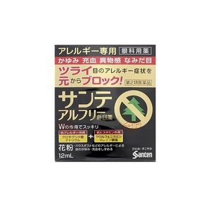 Santen Sante Al Fee New Eye Drops 12ml